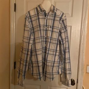 Abercrombie and Fitch boyfriend button down